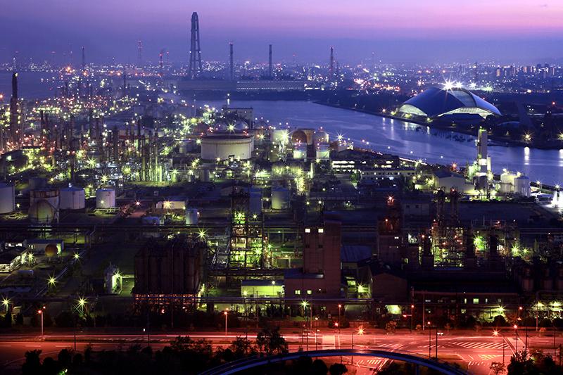 四日市工場夜景を楽しんでみませんか