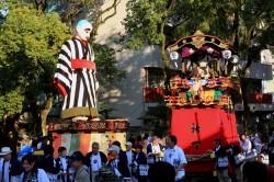 諏訪神社 秋の四日市祭